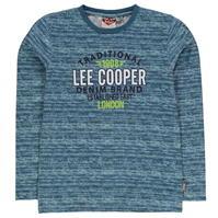 Tricou cu Maneca Lunga Lee Cooper pentru baieti