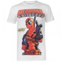 Tricou cu personaje Marvel Wash pentru Barbat