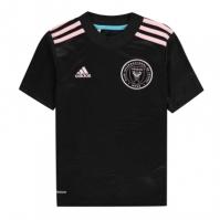 Tricou Deplasare adidas Inter Miami 2021 pentru Copil negru roz