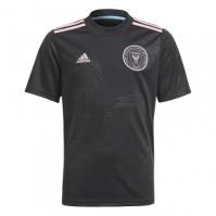 Tricou Deplasare adidas Inter Miami 2021 pentru Copil negru true roz