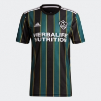 Tricou Deplasare adidas LA Galaxy 2021 negru techgreen