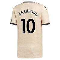 Tricou Deplasare adidas Manchester United Marcus Rashford 2019 2020