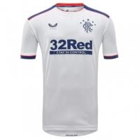 Tricou Deplasare Castore Rangers 2020 2021 alb