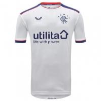 Tricou Deplasare Castore Rangers 2020 2021 pentru Copil alb