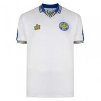 Tricou echipa Score Draw Leeds United 1978 pentru Barbat alb