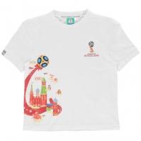 Tricou FIFA Cupa Mondiala 2018 Rusia imprimeu Graphic pentru Copil