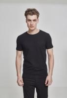 Tricou Fitted Stretch negru Urban Classics