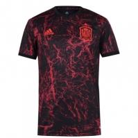 Tricou fotbal adidas Spania 2020 pentru Barbat negru