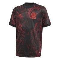 Tricou fotbal adidas Spania 2020 pentru Copil negru