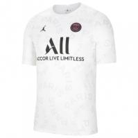 Tricou fotbal Nike Paris Saint Germain x Jordan pentru Barbat alb