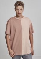 Tricou Harlequin lejer maro-roz Urban Classics pudrat