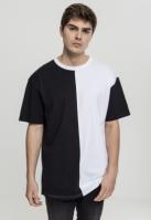 Tricou Harlequin lejer negru-alb Urban Classics