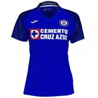Tricou Joma 1st Acasa Cruz Azul Royal cu maneca scurta pentru Dama