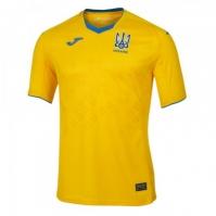 Tricou Joma 1st Ff Ukraine galben cu maneca scurta