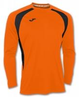 Tricou Joma Champion III Orange-negru cu maneca lunga portocaliu