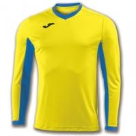 Tricou Joma Champion Iv galben-royal cu maneca lunga albastru roial