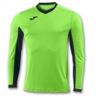 Tricou Joma Champion Iv Lime-negru cu maneca lunga verde