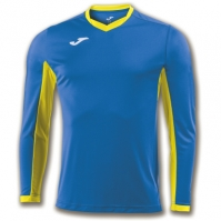 Tricou Joma Champion Iv Royal-galben cu maneca lunga albastru roial