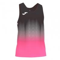 Tricou Joma Elite Vii negru-f roz-alb fara maneci