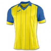 Tricou Joma Grada galben-royal cu maneca scurta