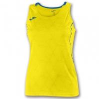 Tricou Joma Record II fara maneci galben pentru Dama