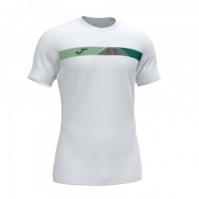 Tricou Joma Open II alb cu maneca scurta