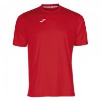 Tricouri Joma T- Combi rosu cu maneca scurta