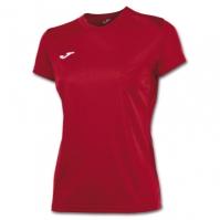 Tricouri sport Joma T- rosu cu maneca scurta