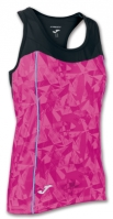 Tricou Joma Venus roz-negru fara maneci