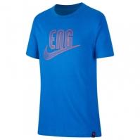 Tricou Nike Anglia 2020 pentru Copil albastru roial