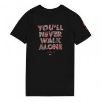 Tricou Nike Liverpool Voice pentru Copil negru