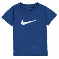 Tricou Nike Swoosh baietei albastru