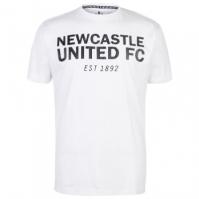 Tricou NUFC Est pentru Barbat alb
