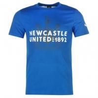 Tricou Puma Newcastle United imprimeu Graphic pentru Barbat albastru roial