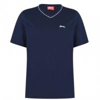 Tricou Slazenger cu decolteu in V pentru Barbat bleumarin