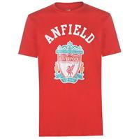 Tricou Source Lab Liverpool Crest pentru Barbat
