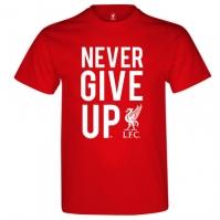 Tricou Source Lab Liverpool Never Give Up pentru Barbat