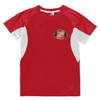 Tricou Source Lab Sunderland AFC Poly pentru baietei rosu
