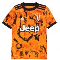 Tricou sport Third adidas Juventus 2020 2021 pentru Copil portocaliu
