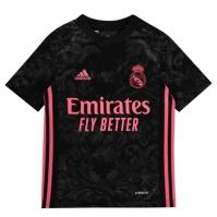 Tricou sport Third adidas Real Madrid 2020 2021 pentru Copil negru