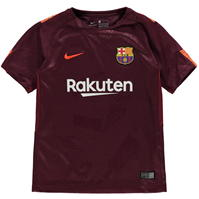 Tricou sport Third Nike Barcelona 2017 2018 pentru Copil
