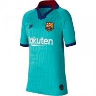 Tricou sport Third Nike Barcelona 2019 2020 pentru Copil albastru