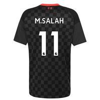 Tricou sport Third Nike Liverpool Mohamed Salah 2020 2021 gri