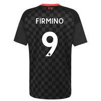 Tricou sport Third Nike Liverpool Roberto Firmino 2020 2021 gri