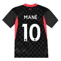 Tricou sport Third Nike Liverpool Sadio Mane 2020 2021 pentru Copil gri