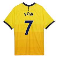 Tricou sport Third Nike Tottenham Hotspur Heung Min Son 2020 2021 pentru Copil galben