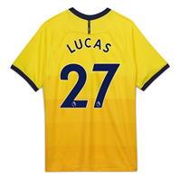 Tricou sport Third Nike Tottenham Hotspur Lucas Moura 2020 2021 pentru Copil galben