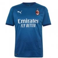 Tricou sport Third Puma AC Milan 2020 2021 verde