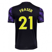 Tricou sport Third Puma Newcastle United Ryan Fraser 2020 2021 pentru Copil mov