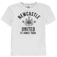 Tricou Team Newcastle United Est pentru baietei alb